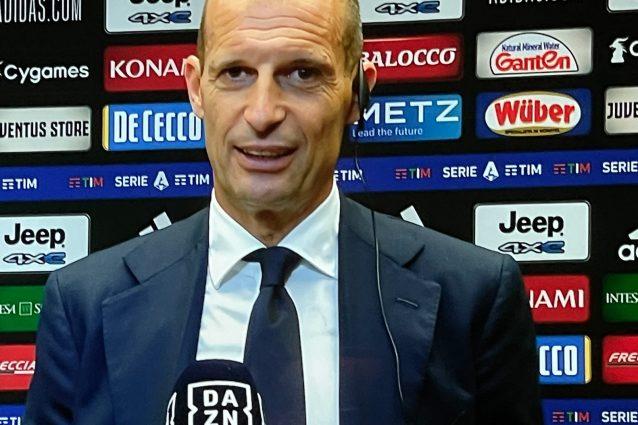 """Schermata 2021 08 28 alle 23.33.14 638x425 - Allegri non perde il sorriso: """"In qualche modo la risolviamo. Ronaldo? Penso al gruppo"""""""