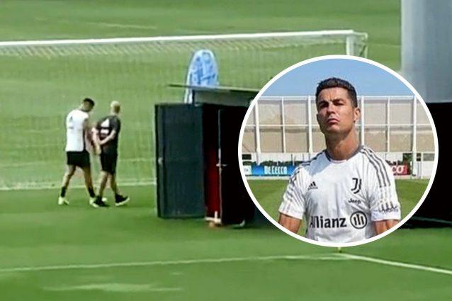 cristiano ronaldo allenamento 638x425 - Cristiano Ronaldo lascia il campo durante l'allenamento: impossibile continuare