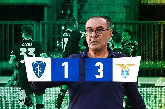 emplaz 638x425 - Lazio buona la prima di Sarri, 3-1 all'Empoli: gol di Milinkovic, Lazzari e Immobile