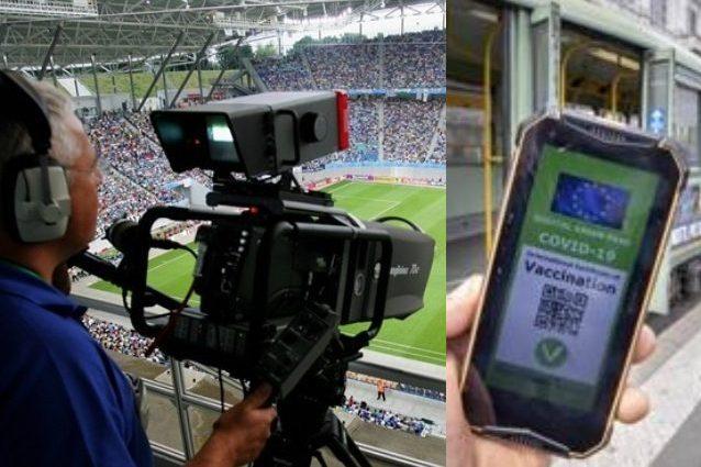 operatore tv green pass lega pro 638x425 - L'operatore tv è senza green pass e la partita di Coppa Italia di Lega Pro non viene trasmessa