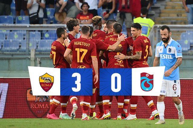 thumborma 638x425 - La Roma vola alla fase a gironi di Conference League, 3-0 al Trabzonspor: Zaniolo torna al gol