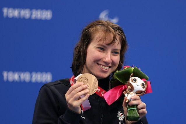 GettyImages 1337402040 638x425 - Xenia Palazzo ancora sul podio: quarta medaglia per la nuotatrice italiana alle Paralimpiadi