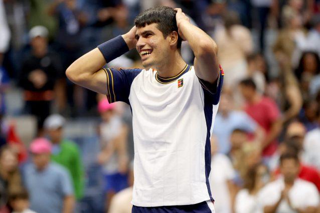 """GettyImages 1338183484 638x425 - US Open più divertenti senza Federer e Nadal: """"Tutti giocano con la schiuma alla bocca"""""""