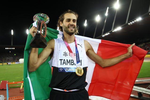 GettyImages 1339339252 638x425 - Estasi Tamberi: trionfa anche nella Diamond League, è il primo italiano a riuscirci