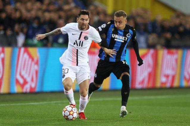 GettyImages 1340579493 638x425 - Agghiacciante debutto del PSG di Messi, Neymar e Mbappé: Brugge più pericoloso