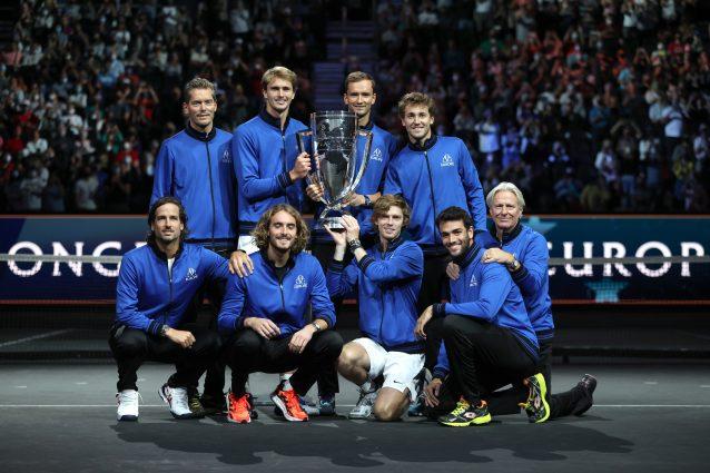 GettyImages 1342912260 638x425 - Il Team Europa trionfa ancora nella Laver Cup: netto 14-1 al Resto del Mondo