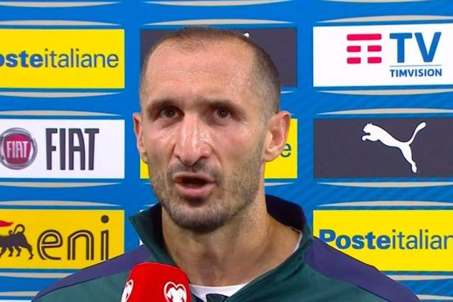 """Schermata 2021 09 05 alle 22.44.53 638x425 - Il rammarico di Mancini e Chiellini: """"Non si possono sbagliare gol così"""""""