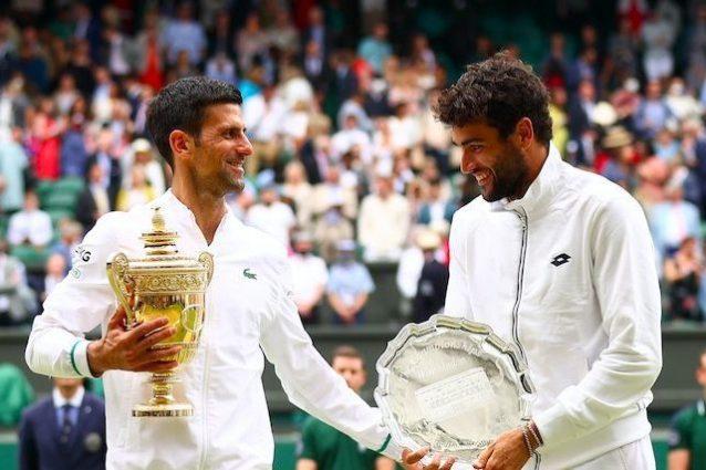 """Schermata 2021 09 08 alle 13 1631102302410 638x425 - Djokovic incorona Berrettini, ha un nuovo posto nel mondo: """"È il martello del tennis"""""""