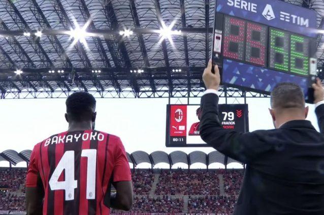 Schermata 2021 09 12 alle 20.01.29 638x425 - Cori razzisti dei tifosi della Lazio all'ingresso in campo di Bakayoko a San Siro