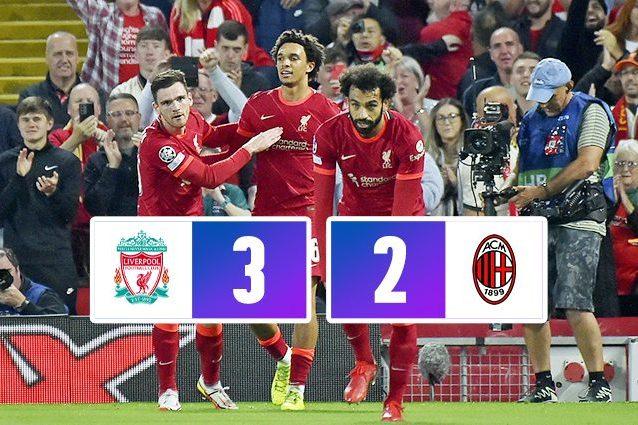 THUMB MILAN 638x425 - Il Milan sogna in grande solo per 5 minuti: il Liverpool vince 3-2 ad Anfield