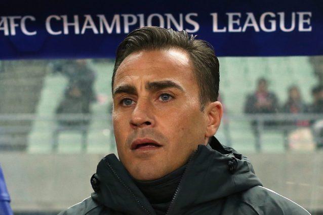 cannavaro guangzhou evergrande rescissione 638x425 - Fabio Cannavaro rescinde con il Guangzhou: Evergrande in ginocchio come Suning
