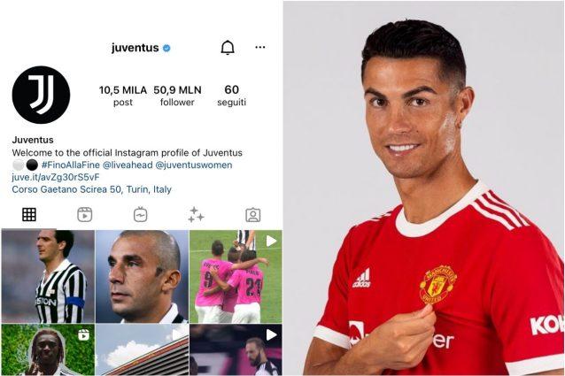 cristiano ronaldo juve instagram 638x425 - Fuga dalla Juventus: Cristiano Ronaldo si porta via i follower su Instagram