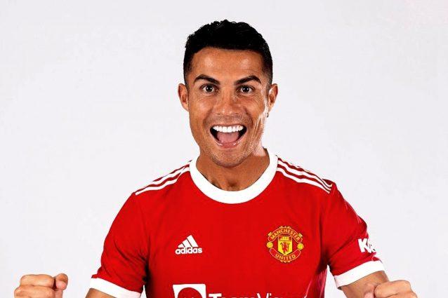 """cristiano ronaldo united 638x425 - Cristiano Ronaldo raggiante dopo l'addio alla Juve: """"La decisione migliore che ho preso"""""""