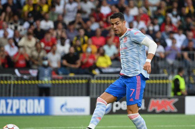 cristiano ronaldo young boys manchester united 638x425 - Cristiano Ronaldo è una sentenza anche in Champions: fa gol al primo tiro