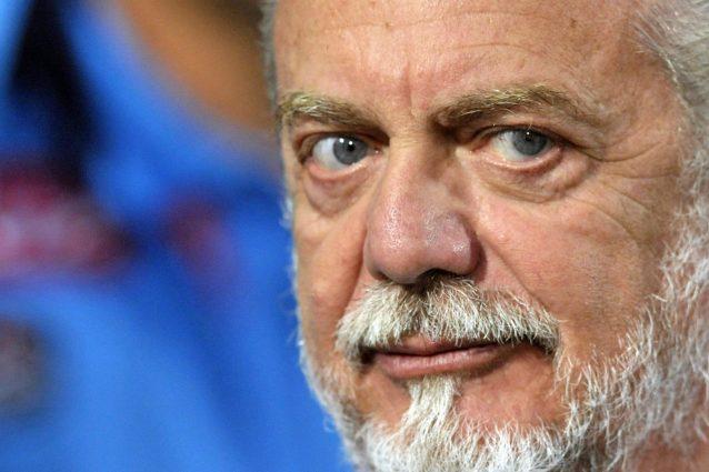 """de laurentiis napoli scudetto 638x425 - De Laurentiis torna all'attacco: """"Al Napoli qualcuno ha scippato lo scudetto"""""""