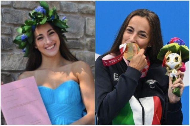 """giulia terzi laurea paralimpiadi 638x425 - L'inno alla vita di Giulia Terzi in 2 lauree e 5 medaglie: """"Se puoi sognarlo, puoi farlo"""""""