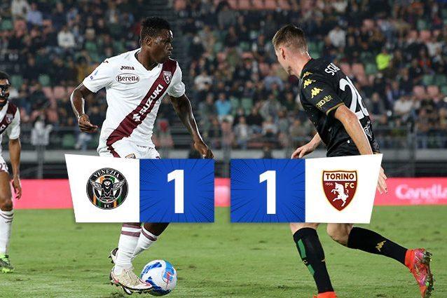 imgpsh fullsize anim 2 638x425 - Finisce 1-1 il posticipo tra Venezia e Torino: a Brekalo risponde Aramu su rigore