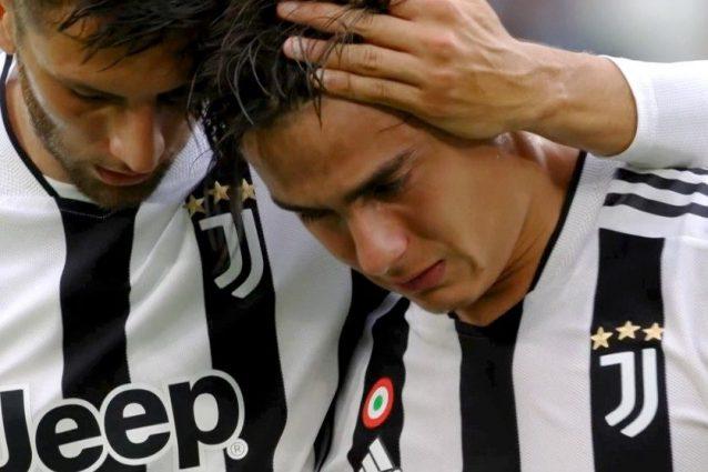 """infortunio dybala 638x425 - Juve in emergenza totale, Allegri porta cattive notizie: """"Dybala e Morata tornano dopo la sosta"""""""