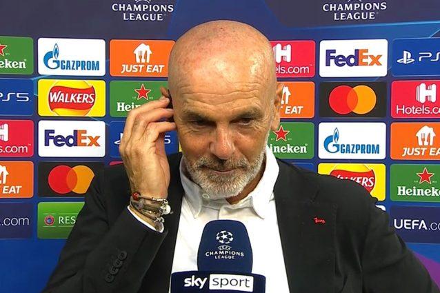 """pioli liverpool milan 638x425 - L'amarezza di Pioli per la sconfitta di Liverpool: """"Errori nostri sui gol subiti"""""""