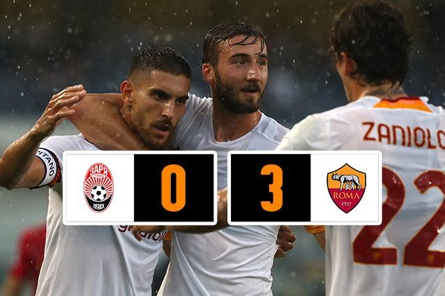 roma thumb 638x425 - Troppa Roma in Conference League, lo Zorya si arrende ai gol di El Shaarawy, Smalling e Abraham