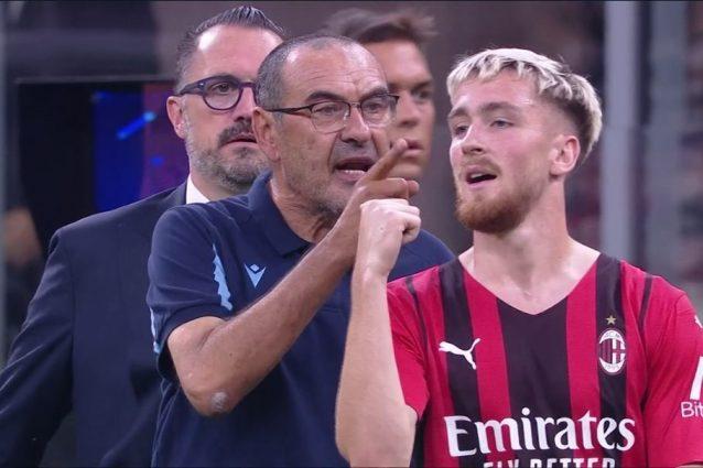 """sarri rispetto 638x425 - """"Devi portare rispetto"""": Sarri è una furia, espulso alla fine della partita col Milan"""