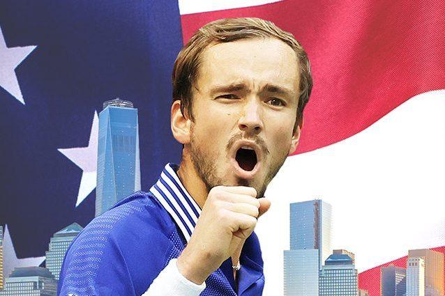 thumb13 638x425 - Medvedev vince gli US Open, sfuma il Grande Slam per Djokovic