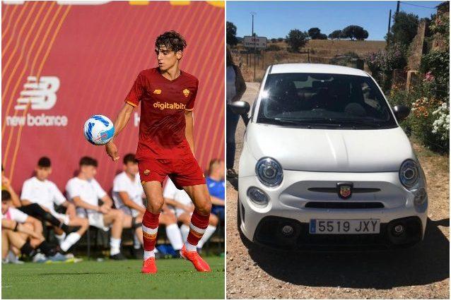 """villar roma macchina rubata 638x425 - Rubata l'auto dei genitori a Roma, Villar chiede aiuto: """"Se sapete qualcosa…"""""""
