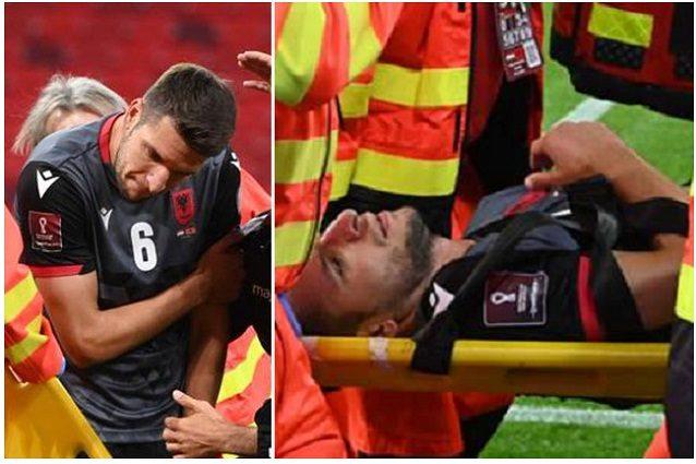 Djimsiti infortunio braccio - Frattura dell'avambraccio per Djimsiti con l'Albania: l'Atalanta lo perde per un mese