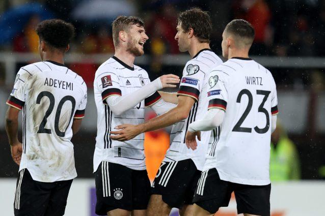 GettyImages 1346058632 638x425 - La Germania travolge la Macedonia e vola ai Mondiali, Olanda e Russia bene nelle qualificazioni