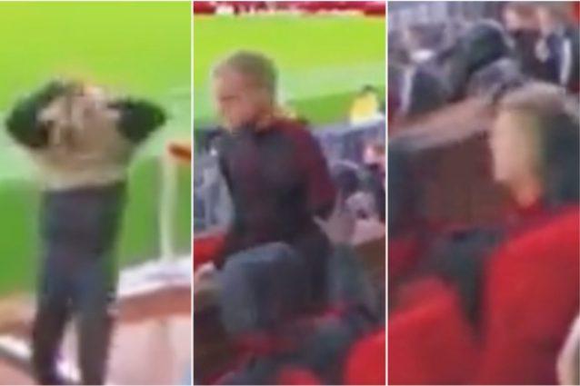 Schermata 2021 10 01 alle 09.29.47 638x425 - Van de Beek non ce la fa più allo United: Solskjaer lo ignora, lui esplode in panchina