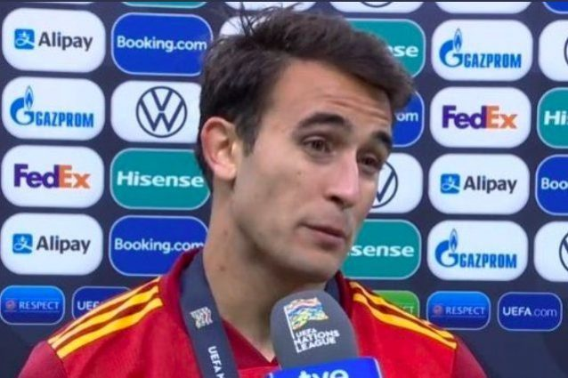 """Schermata 2021 10 11 alle 07 1633930605132 638x425 - L'accusa di Eric Garcia dopo Spagna-Francia: """"Secondo l'arbitro avrei dovuto far passare Mbappé"""""""