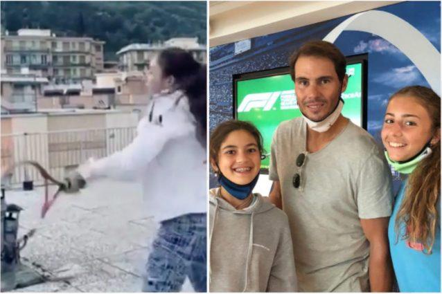Schermata 2021 10 11 alle 20.55.30 638x425 - Emozionarono il mondo giocando sui tetti durante il lockdown: Federer ha realizzato il loro sogno