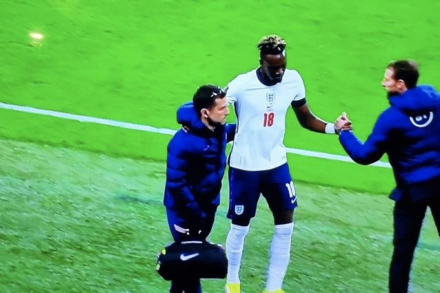 Schermata 2021 10 12 alle 22.45.06 638x425 - Tammy Abraham si infortuna con l'Inghilterra, rischia di saltare Juventus-Roma