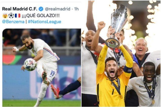 """Spagna francia ok 638x425 - Il Real Madrid festeggia dopo il gol della Francia alla Spagna: """"È disgustoso"""""""