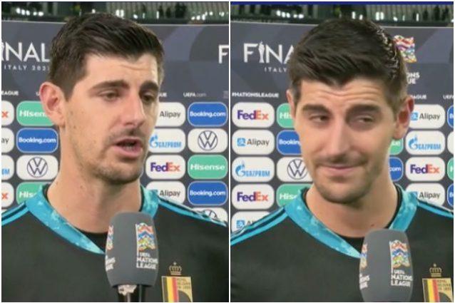 """courtois 638x425 - Courtois snobba Italia-Belgio: """"È una partita inutile, non capisco perché dobbiamo giocarla"""""""