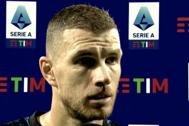 """dzeko ronaldo sassuolo 1 inter 2 638x425 - Dzeko come Ronaldo il Fenomeno, impatto impressionante nell'Inter: """"Me l'aspettavo"""""""