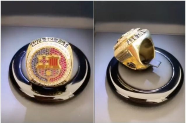 griezmann 638x425 - Griezmann non dimentica il Barça: l'anello NBA in omaggio all'unico titolo vinto con Koeman