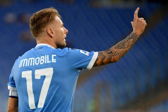 immobile lazio 638x425 - La Lazio sorride, Ciro Immobile guarito dall'infortunio: ci sarà contro l'Inter dell'ex Inzaghi