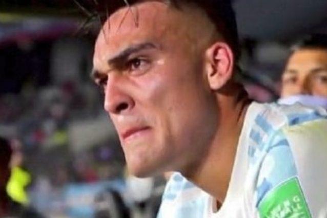 lautaro 638x425 - Lautaro Martinez titolare a sorpresa nell'Argentina: poi le lacrime irrefrenabili