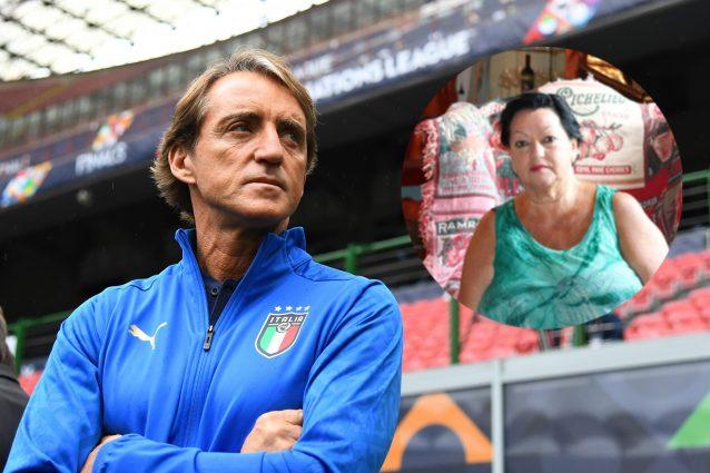 """mancini mamma 638x425 - Mancini alla mamma dopo l'operazione: """"Hai capito che abbiamo vinto gli Europei? Te lo ricordi?"""""""