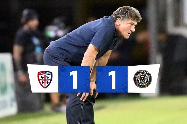 mazzarri 638x425 - Busio allo scadere risponde a Keita: finisce 1-1 tra Cagliari e Venezia