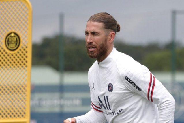 """sergio ramos ginocchio psg 638x425 - Tremendo sospetto su Sergio Ramos, perché non gioca nel PSG: """"Al Real Madrid sapevano tutto"""""""