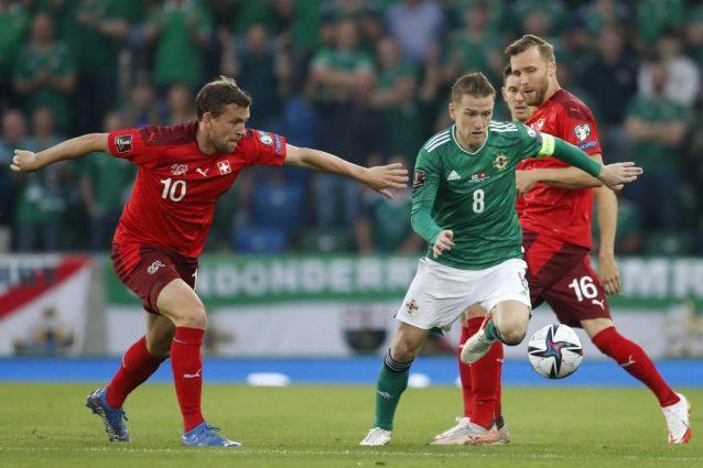 svizzera irlanda qualificazioni 638x425 - Qualificazioni Mondiali in TV oggi e stasera: Svizzera-Irlanda del Nord in chiaro, dove vederla