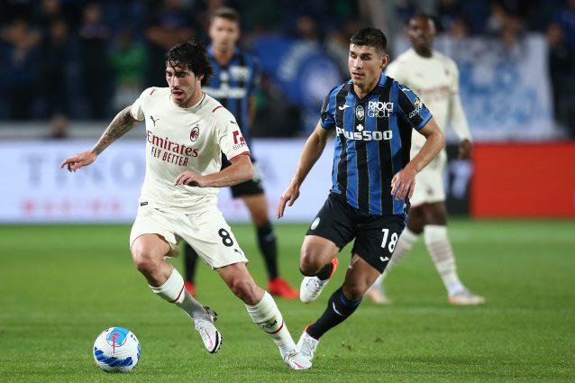 """tonali milan 638x425 - Tonali non si nasconde: """"Lo Scudetto è l'unico obiettivo che ha il Milan quest'anno"""""""
