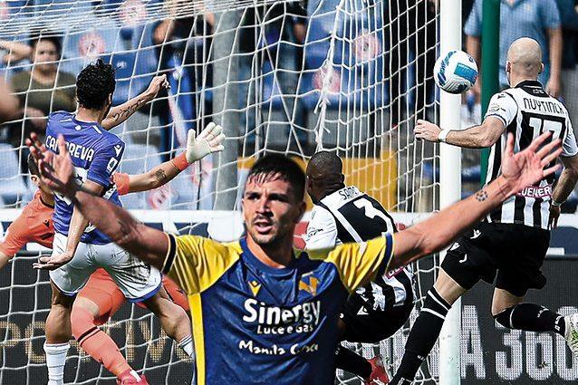 xx 638x425 - Poker del Verona allo Spezia. Sampdoria e Udinese regalano gol e spettacolo, a Marassi è 3-3