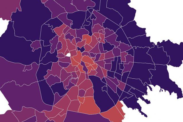 Cartina Di Villa Borghese Roma.Coronavirus Roma I Dati E La Mappa Dei Contagi Quartiere Per Quartiere Aggiornata A Gennaio 2021