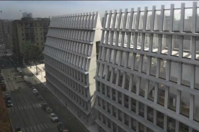 Porta volta pubblicato il bando per l 39 edificio gemello for Sito della feltrinelli