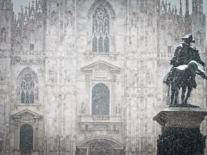 Neve a Milano, allerta per martedì 10 gennaio