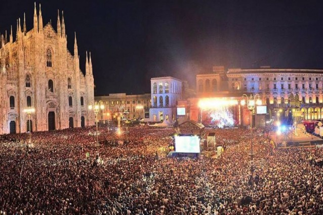 Sicurezza: limite 23.500 persone in Duomo per Radio Italia