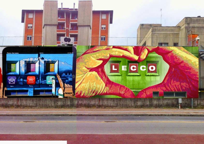 Lecco il comune riqualifica scuole ed edifici con murales d 39 autore foto - Scuola per piastrellisti ...